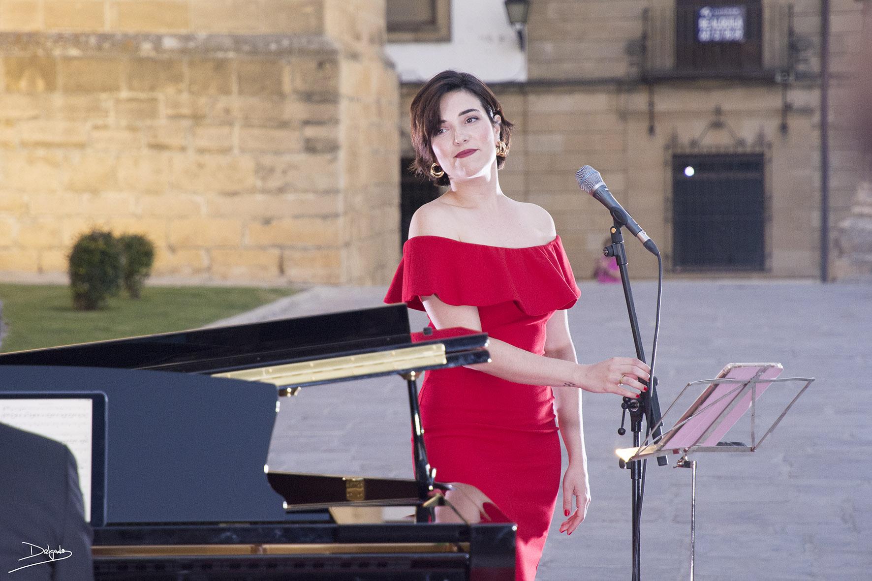 La música de cine a voz y piano