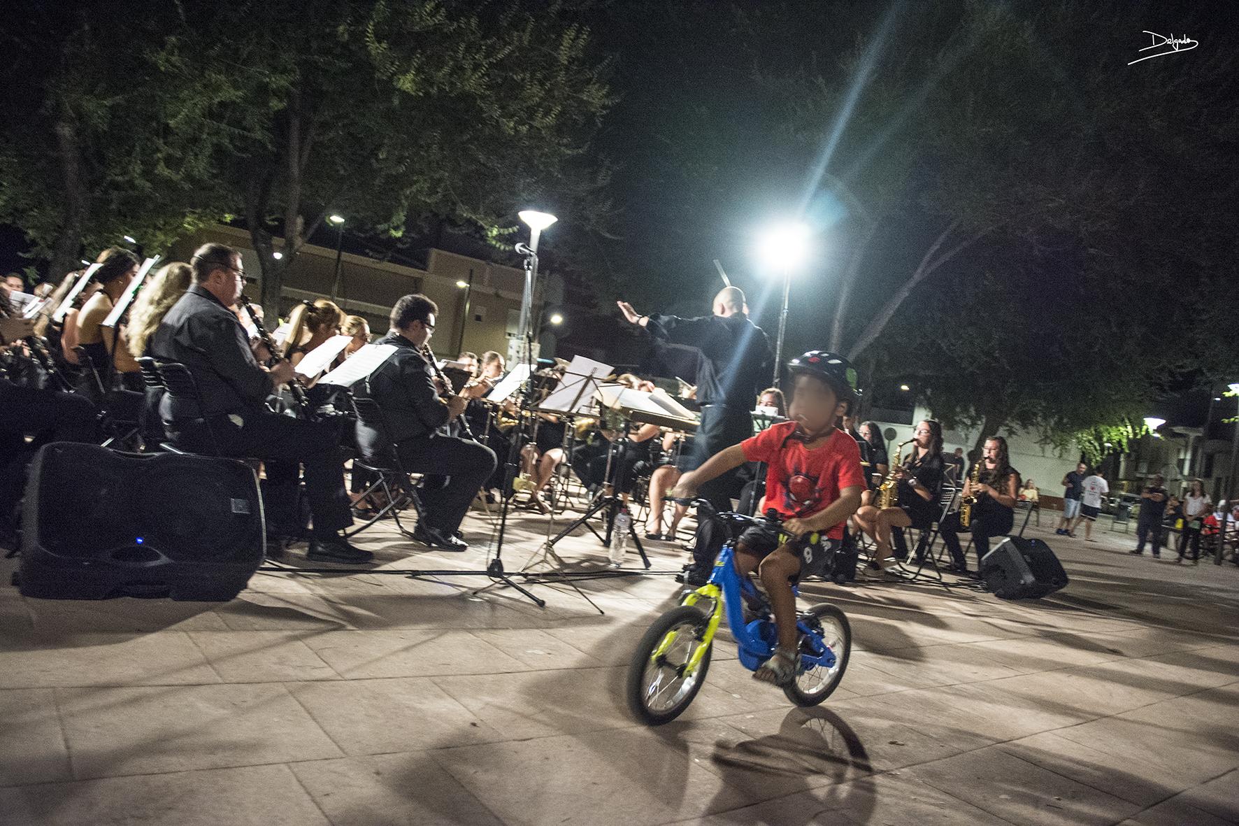 Las bicicletas son para el verano… y para los conciertos de la AMU