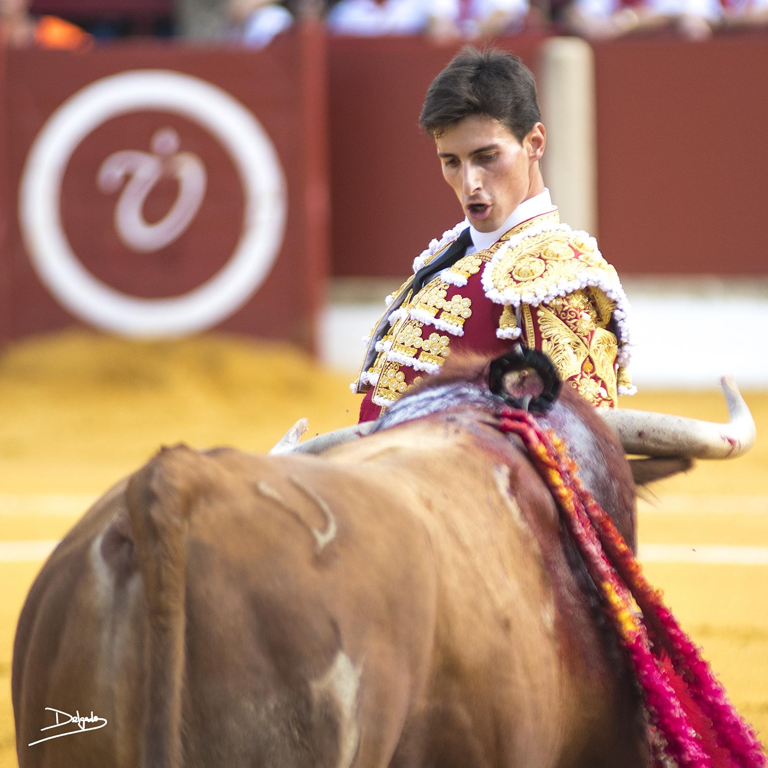 Momentos de la alternativa de García Navarrete