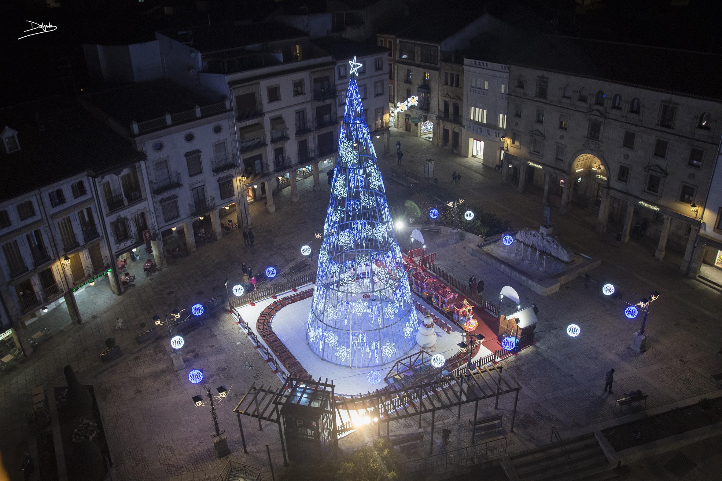 Foto del día: Así luce Úbeda en Navidad