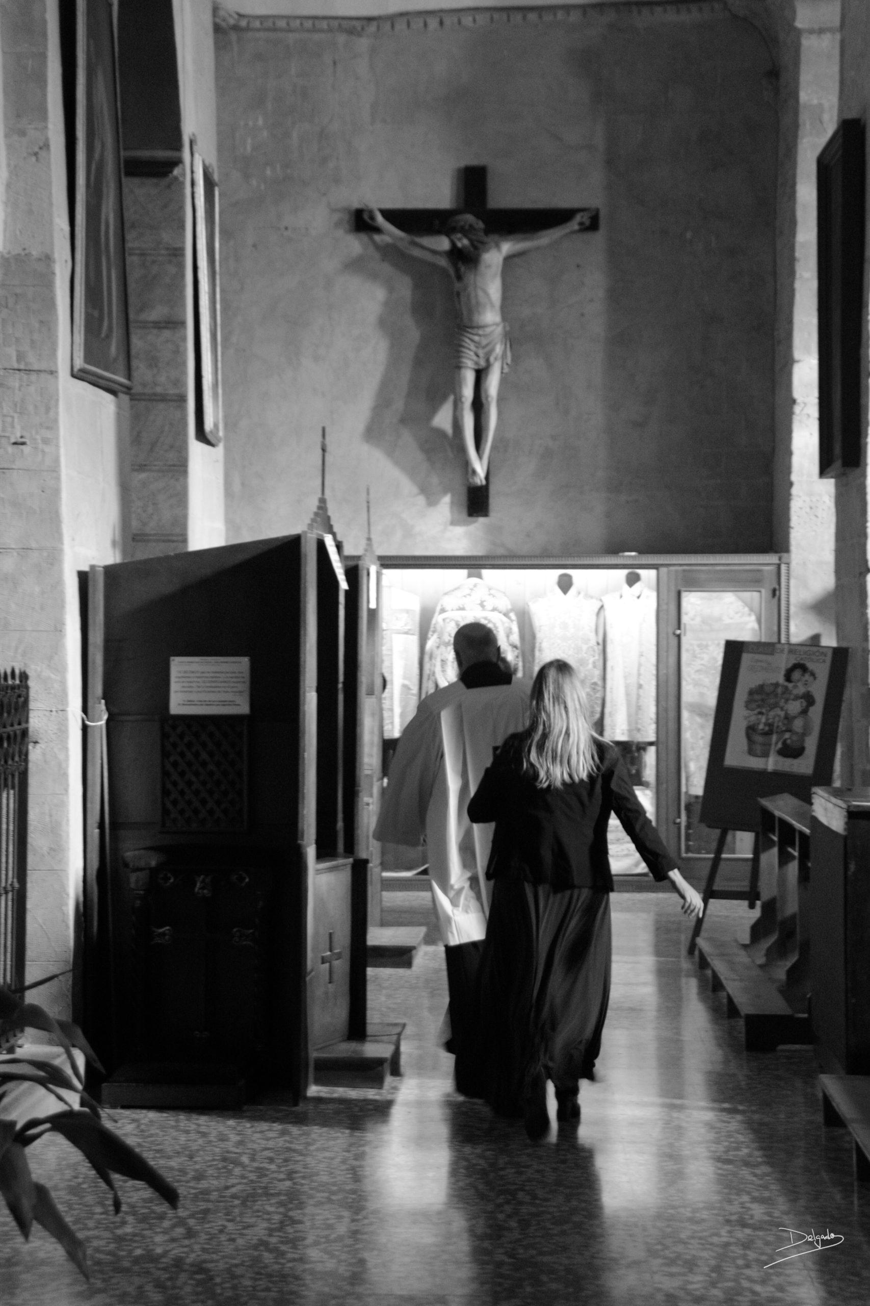 Foto del día: Sin pecados no hay penitencia.