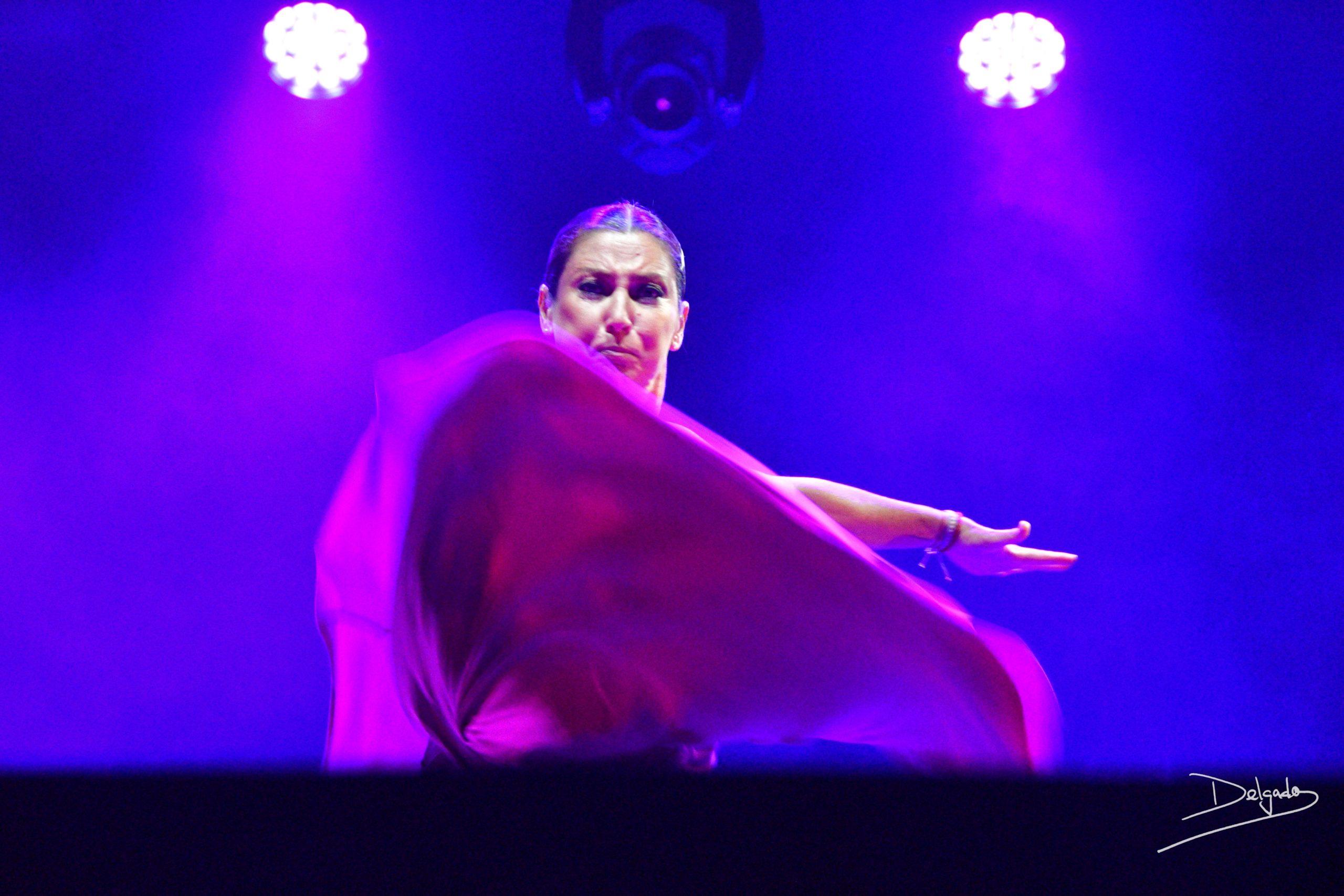 Sara Baras revoluciona el Festival