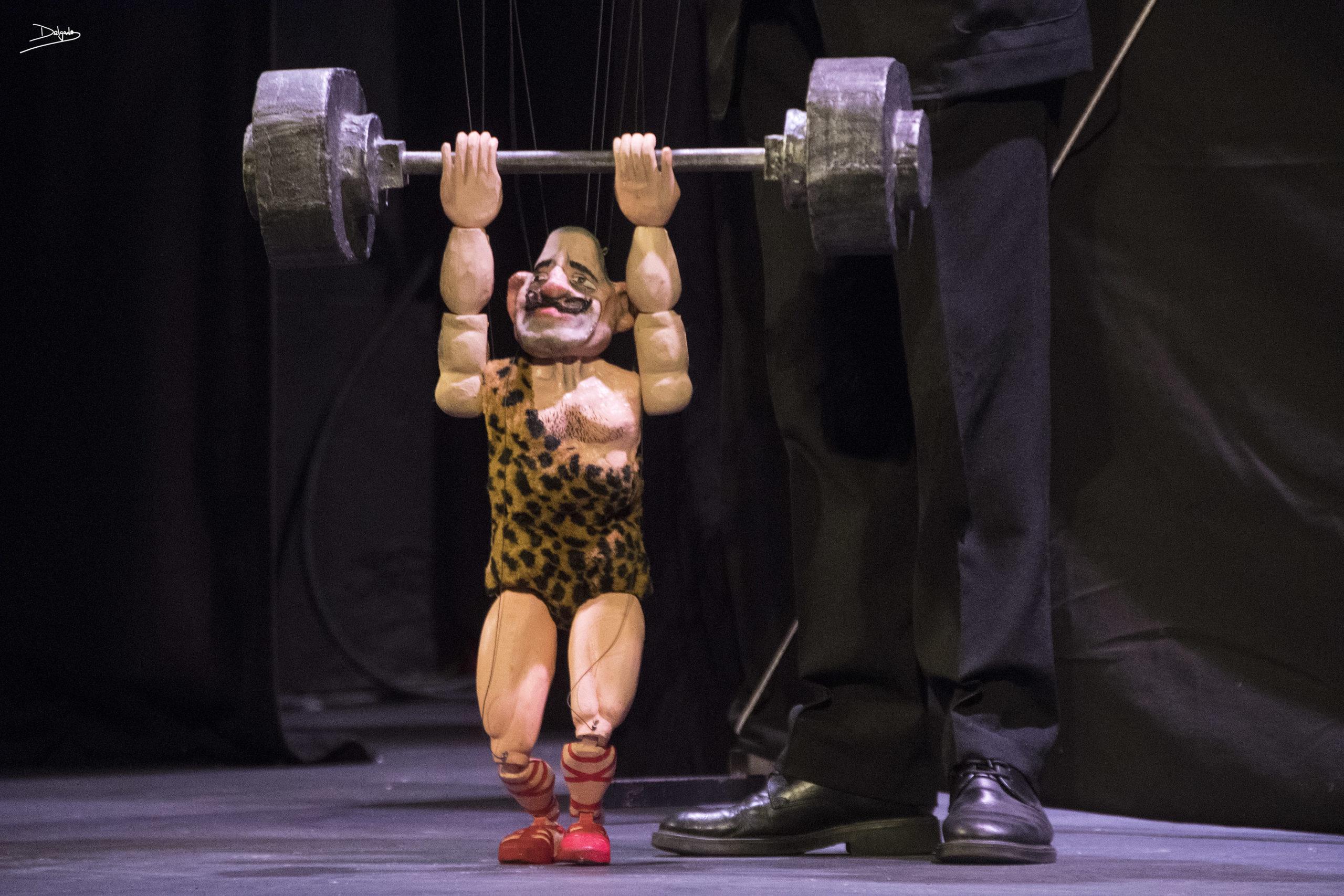 Foto del día: Reflexiones de una… ¿marioneta?