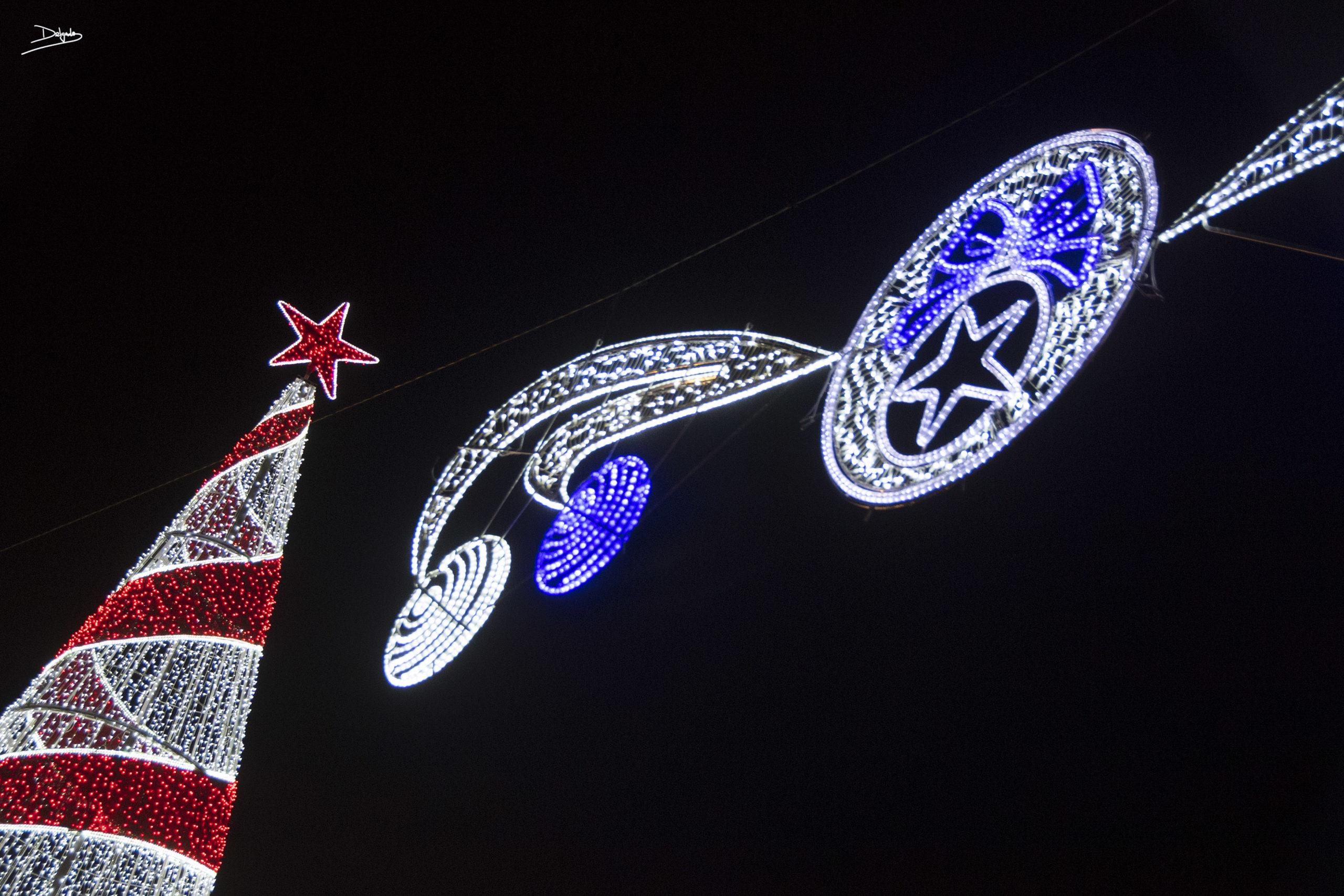 La ciudad se ilumina para Navidad
