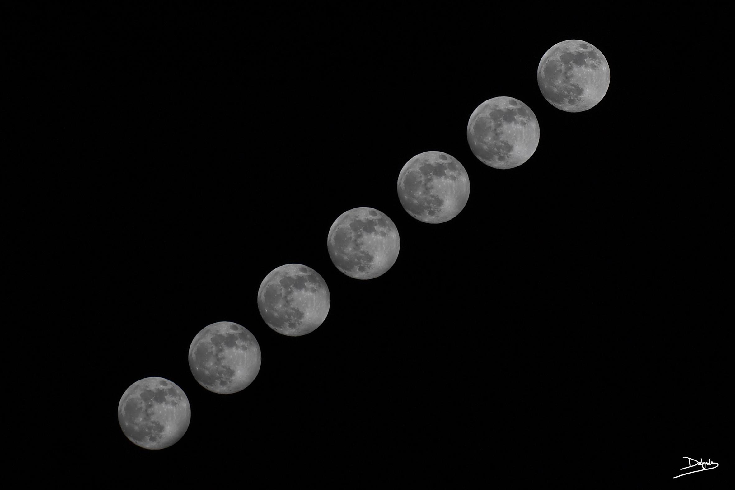 Foto del día: La Luna, una mirada al cielo