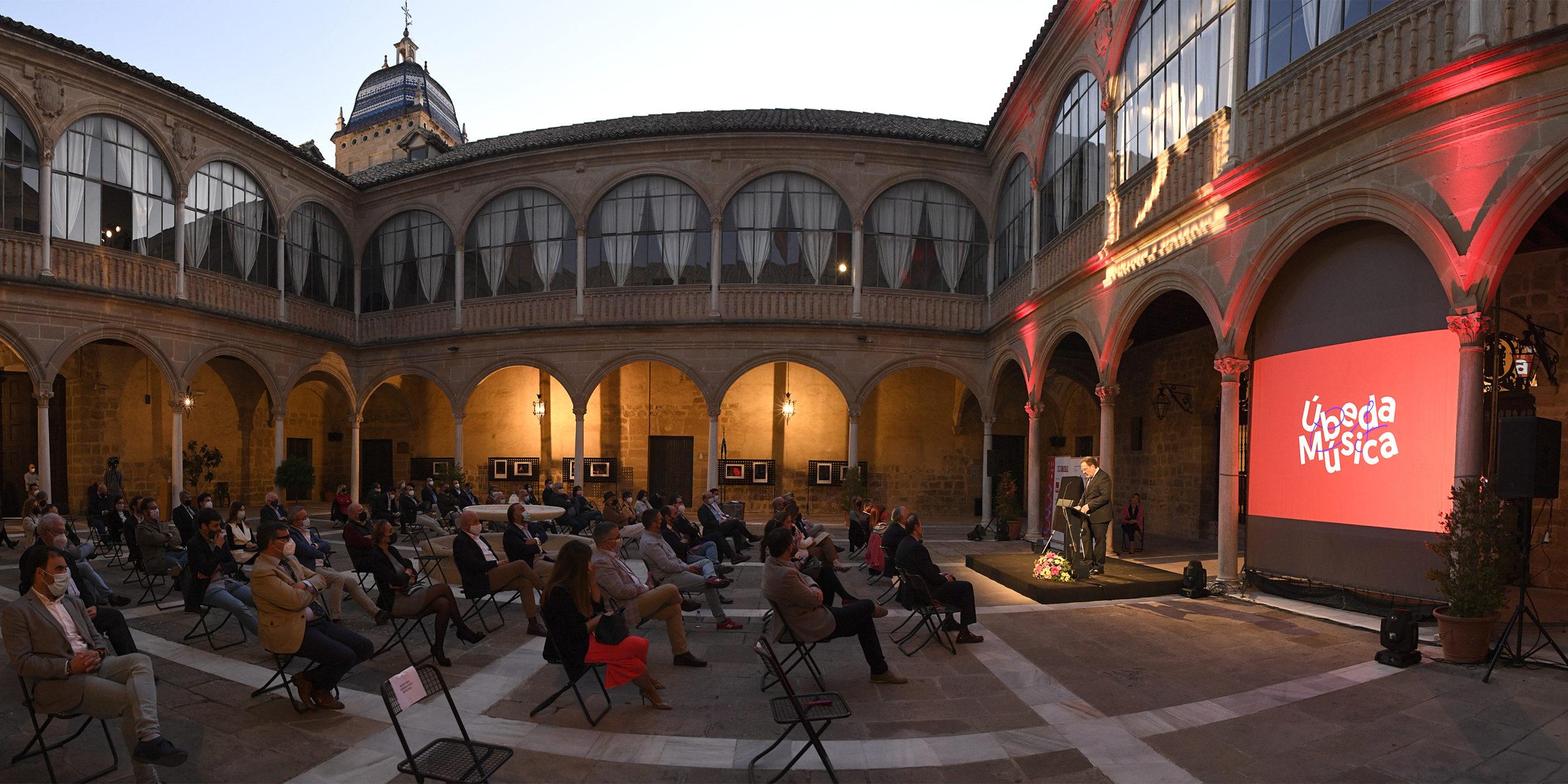 Foto del día: El Festival de Música y Danza en panorámico